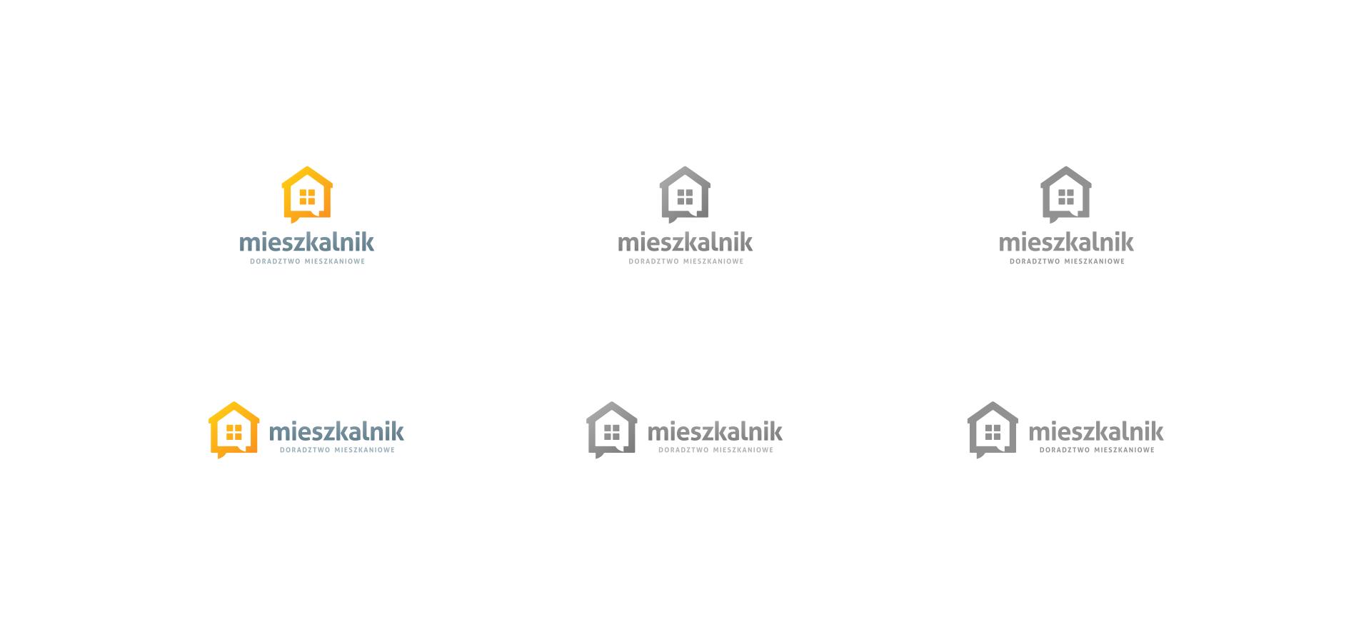 różne wersje logo do wykorzystania