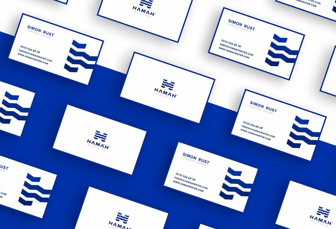 Projekt logotypu Hamah